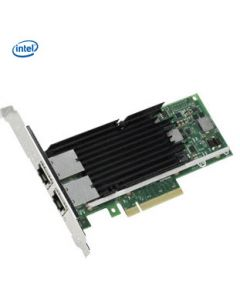 Intel Ethernet Converged Network Adapter X540-T2 - Low Profile bracket, High bracket available also on request