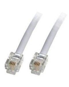 RJ11 - RJ11 Modem Cable 3 Mtrs