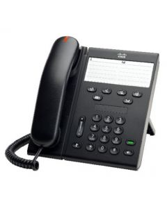 IP Phone 6911, IEEE Ethernet 802.3af, Class 1, 48 VDC, Standard Handset, Charcoal