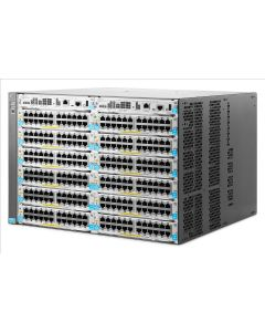 HP 5412R zl2 Manageable Switch Chassis - 12 x Expansion Slots - Rack-mountable
